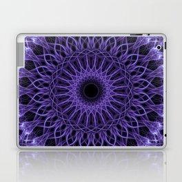 Detailed violet mandala Laptop & iPad Skin