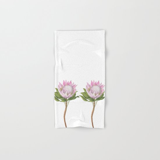 Beautiful Lotus Hand & Bath Towel