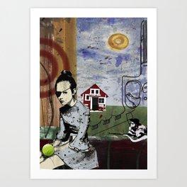 My summer in Poland Art Print