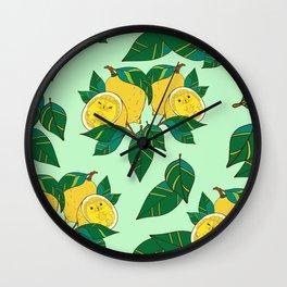 Sourpuss Pattern Wall Clock