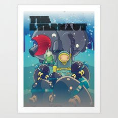 The Eternaut Art Print