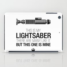 This is my Lightsaber (Luke Version) iPad Case