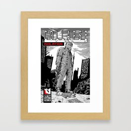 Collapse Issue one Framed Art Print