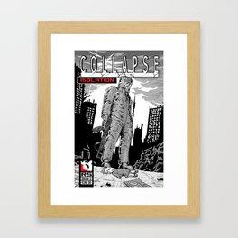 Collapse Issue one Framed Art Print
