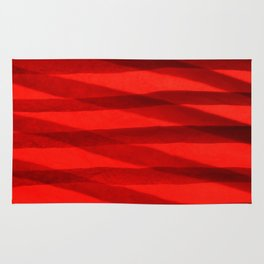Scarlet Shadows Rug