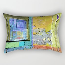 A Morning Scene Abstract No. 3 Rectangular Pillow