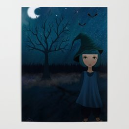 The Blue Grass Witch Poster