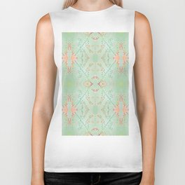 Alice Watercolour Print Biker Tank