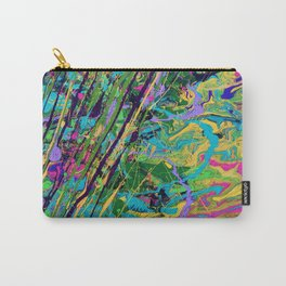 Mardi Gras Marble Carry-All Pouch