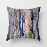 medicine Throw Pillows featuring medicine by karrenn