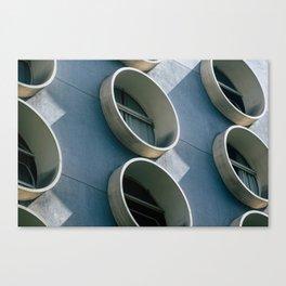 Pod Architecture Canvas Print