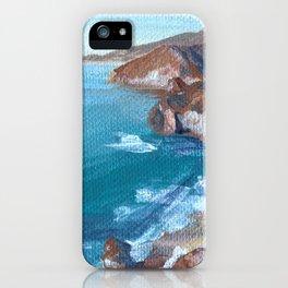 Big Sur No.1 iPhone Case