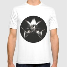 Tristan MEDIUM White Mens Fitted Tee
