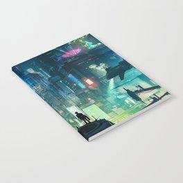 Cyberpunk City Notebook
