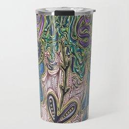 """""""Golden Catharsis"""" Art Travel Mug"""