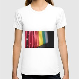 Clips of color T-shirt