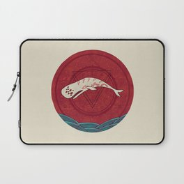 The Devil Roams These Waters Laptop Sleeve