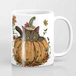 Pumpking cat Coffee Mug
