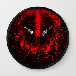 Deadpool Wall Clock