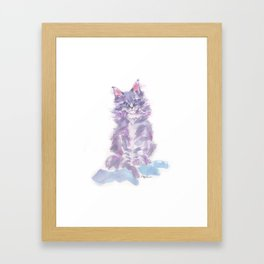 Little Violette Framed Art Print