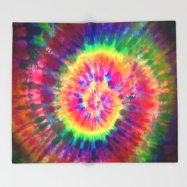 Tie-Dye Throw Blanket