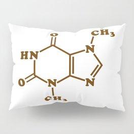 Chocolate Theobromine Molecule Chemical Formula Pillow Sham