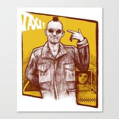 Taxi! Canvas Print