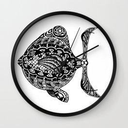 Fish One Wall Clock