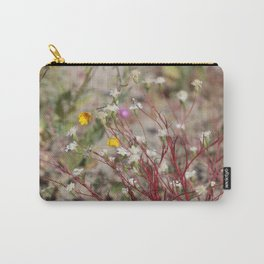 Desert Pincushion Wildflowers of the Coachella Valley Wildlife Preserve Carry-All Pouch