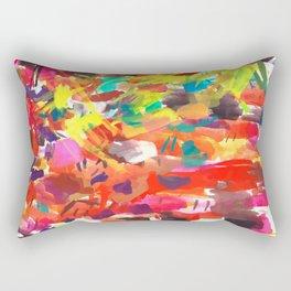 My working palette Rectangular Pillow