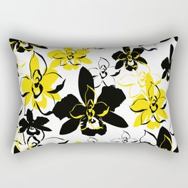 Floral Essence Collection Rectangular Pillow