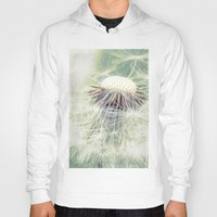 weed Hoodies featuring a weed by Bonnie Jakobsen-Martin