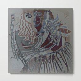 The Piano Girl 2 / Memories / Follies Collection Metal Print
