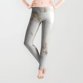 Artico marble - rose gold accents Leggings