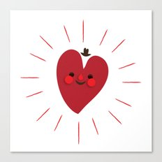 Happy Heart Canvas Print