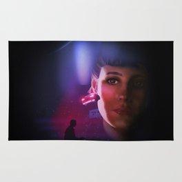 Rachael Blade Runner Poster Rug