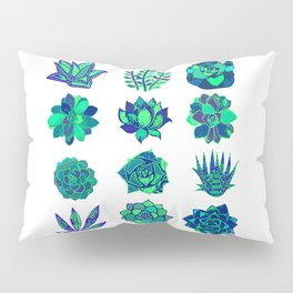 Succulents Art Pillow Sham