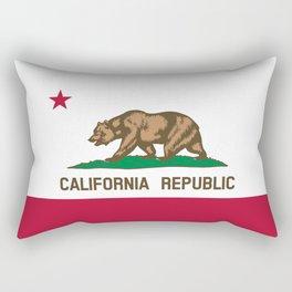 California Flag Rectangular Pillow