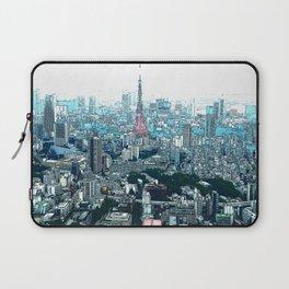 My Love - Tokyo Tower Skyline Laptop Sleeve