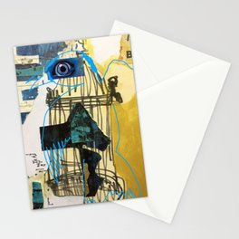 Blue Bird Escape  Stationery Cards