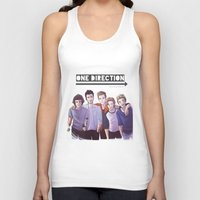 one direction Tank Tops featuring One Direction by Gianbe