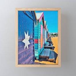 Camie's Beach House Framed Mini Art Print