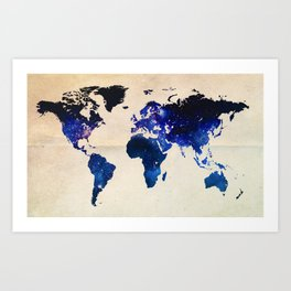 Big World Out There Art Print