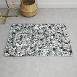 Crowded Space Rug