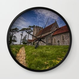 St Andrew Beddingham Wall Clock