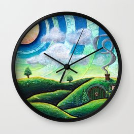 The Shire Wall Clock