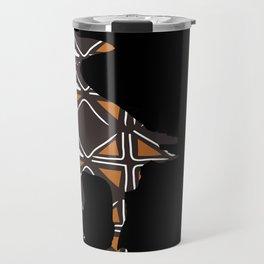 Totemic Crow Travel Mug