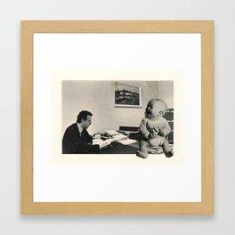 Interview Framed Art Print
