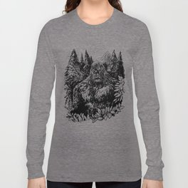 PACIFIC NORTHWEST SASQUATCH Long Sleeve T-shirt