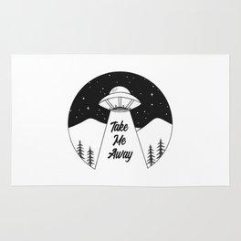'Take Me Away' UFO Rug